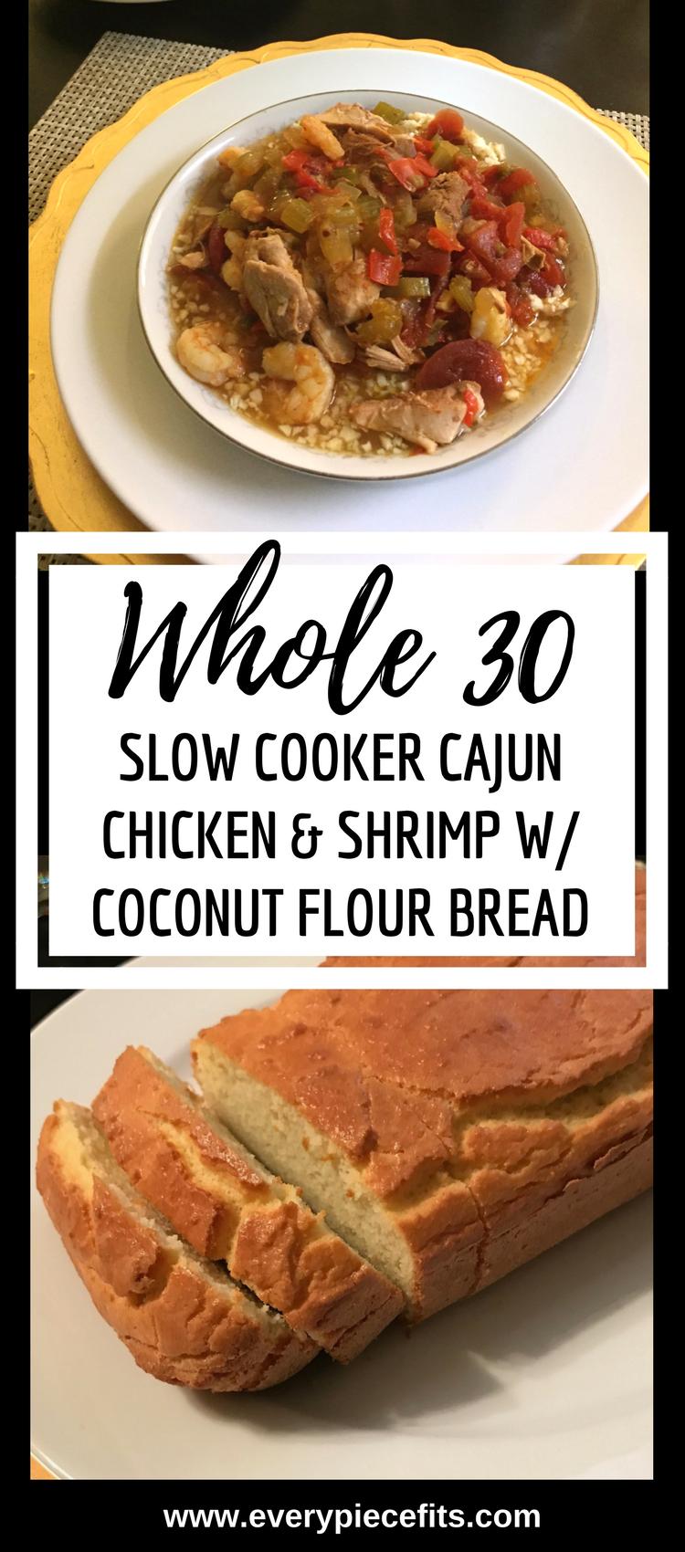 Pinterest Whole 30 Cajun Chicken & Shrimp.png