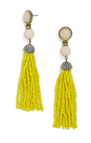 Baublebar Artemis yellow earrings