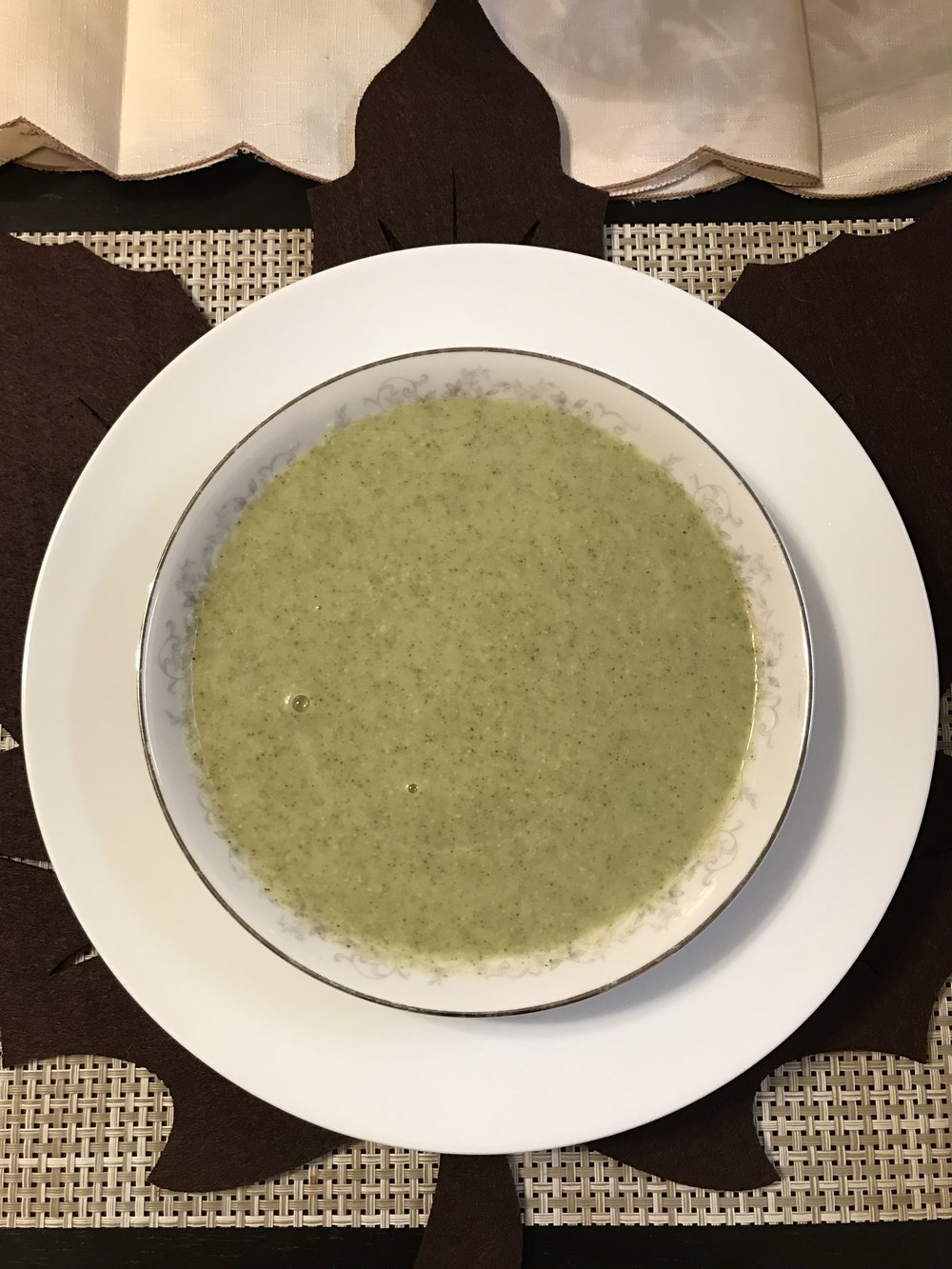 Vegan Broccoli Soup - Paleo & Whole 30