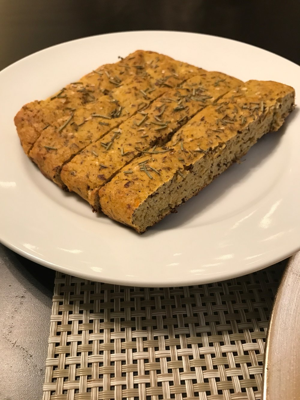 Butternut Squash Focaccia Bread - Paleo & Whole 30