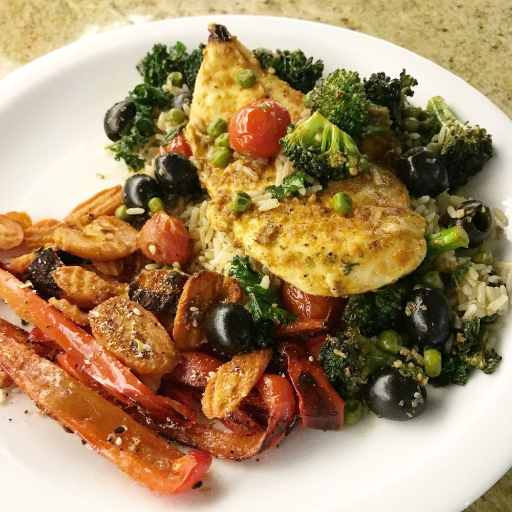 Mediterranean Chicken - Paleo & Whole 30