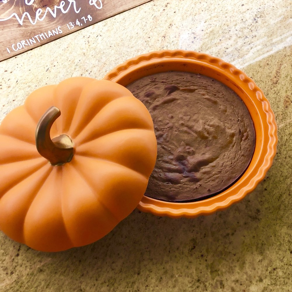 Crustless Pumpkin Pie - Paleo
