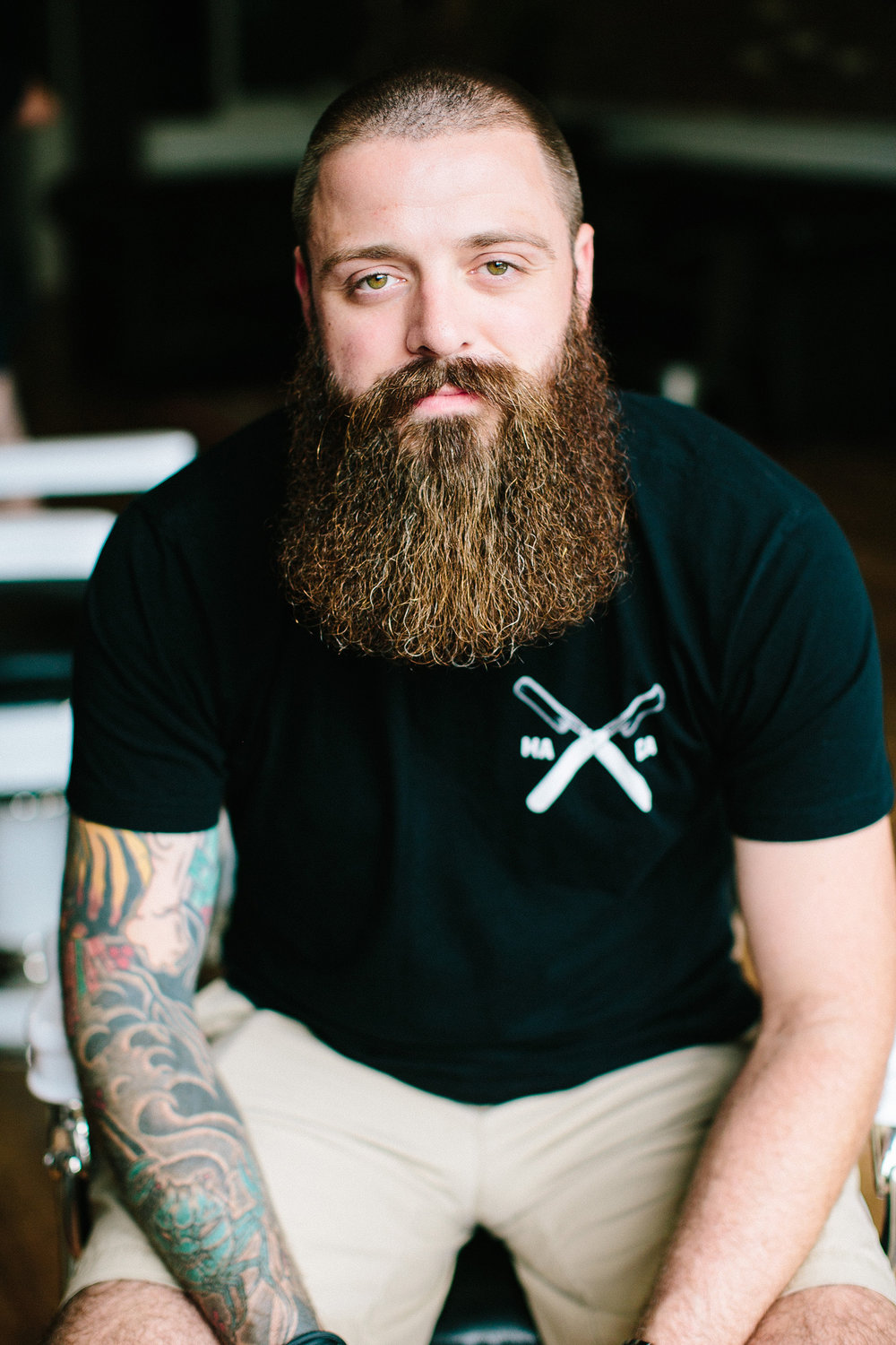 Dave Marks  // Master Barber & Fenway Shop Manager