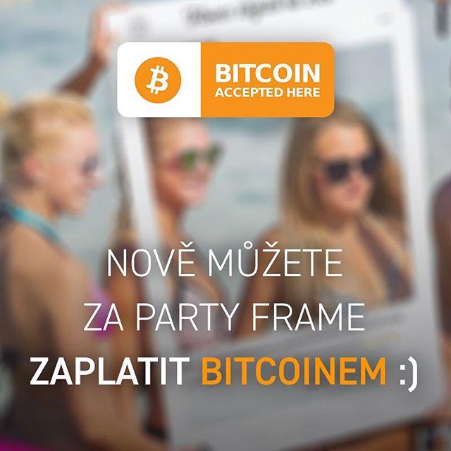 ❗️ Máme tady nějaké příznivce kryptoměn a Bitcoinu? Máme pro vás skvělou zprávu, od teď si můžete objednat Party Frame a zaplatit ho jednoduše a rychle Bitcoinem z vaší peněženky (wallet) 😍 Tlačítko na platbu kryptoměnou najdete pod objednávkovým formulářem na www.partyframe.cz/mam-zajem 👍 Kdybyste si nevěděli rady jak, napište a rádi vám pomůžeme 😉 - - - #partyframecz #photocorner #marketingideas #instagramframe #partyidea #socialframe #socialmedia #partytime #partyorganizer #socialcutout #czechinsta #bitcoin #bitcoinacceptedhere #bitcoincz #kryptomeny #crypto #btc