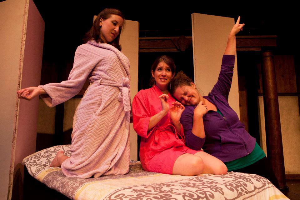 "Jaclyn Hofmann, Kelly Criss and Megan Rose-Houchins in ""Anton in Show Business"""
