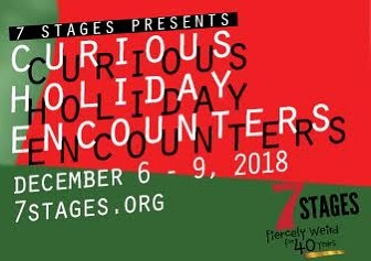 Check out our FB page for details on #CuriousHolidayEncounters at @7stages_atl Dec 6-9! Ticket link in bio! #WeirdCurious #BlessedBeTheBread #MayTheYeastRise #LetsGetWeirdATL