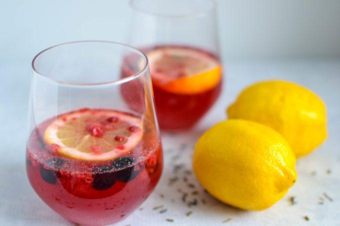 Berry Lavender Lemonade - Katie Pfeffer-Scanlan, RDOne Hungry Bunny