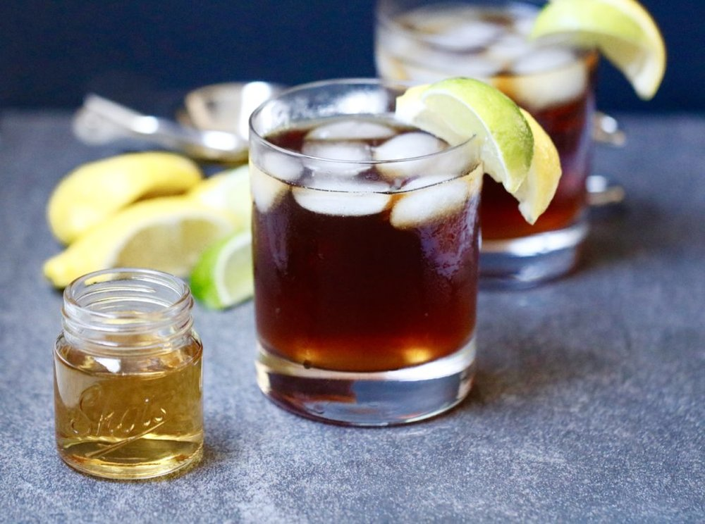 Bourbon Iced Tea - Elizabeth Shaw, MS, RDShaw Simple Swaps