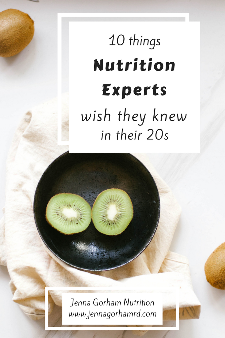 nutrition expert, 20 something