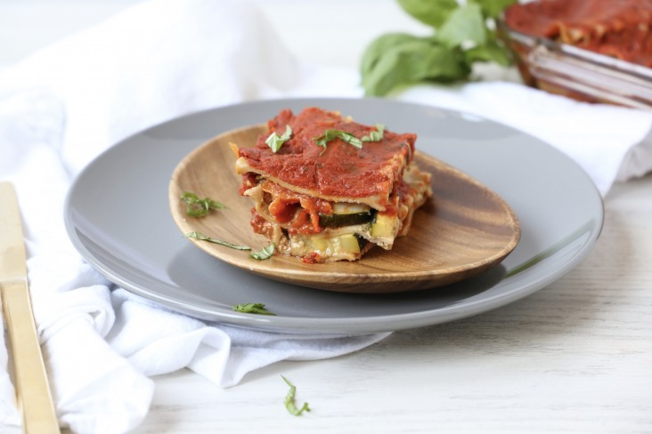 Roasted Vegetable Lasagna - Tracee Yablon Brenner, RD of Triad to Wellness