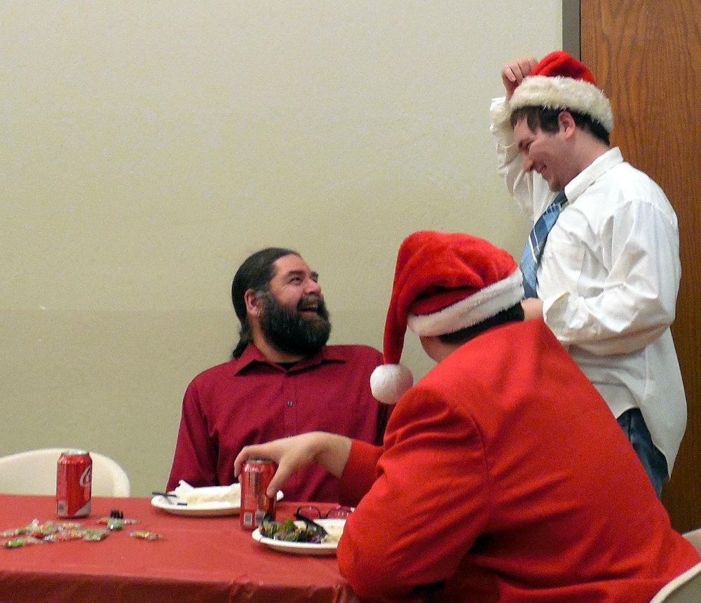 Christmas Party-Chris M and Jon S.JPG