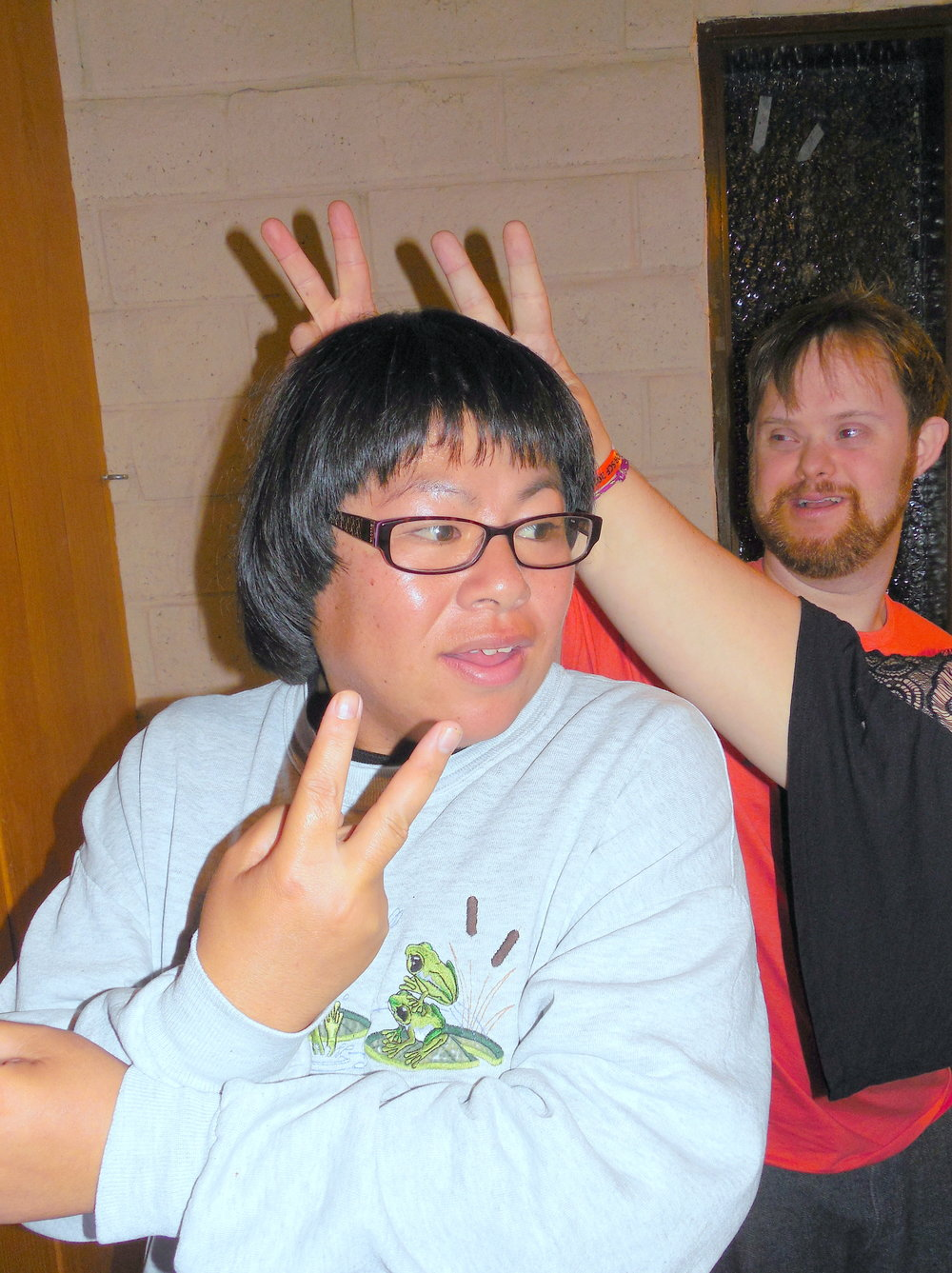 34 Game Night-Stephanie with so many bunny ears-David.jpg