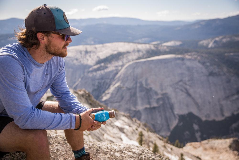 ICONIC Protein Brand Ambassador in Yosemite.