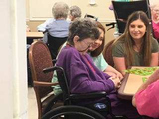 Bingo at Nursing Home
