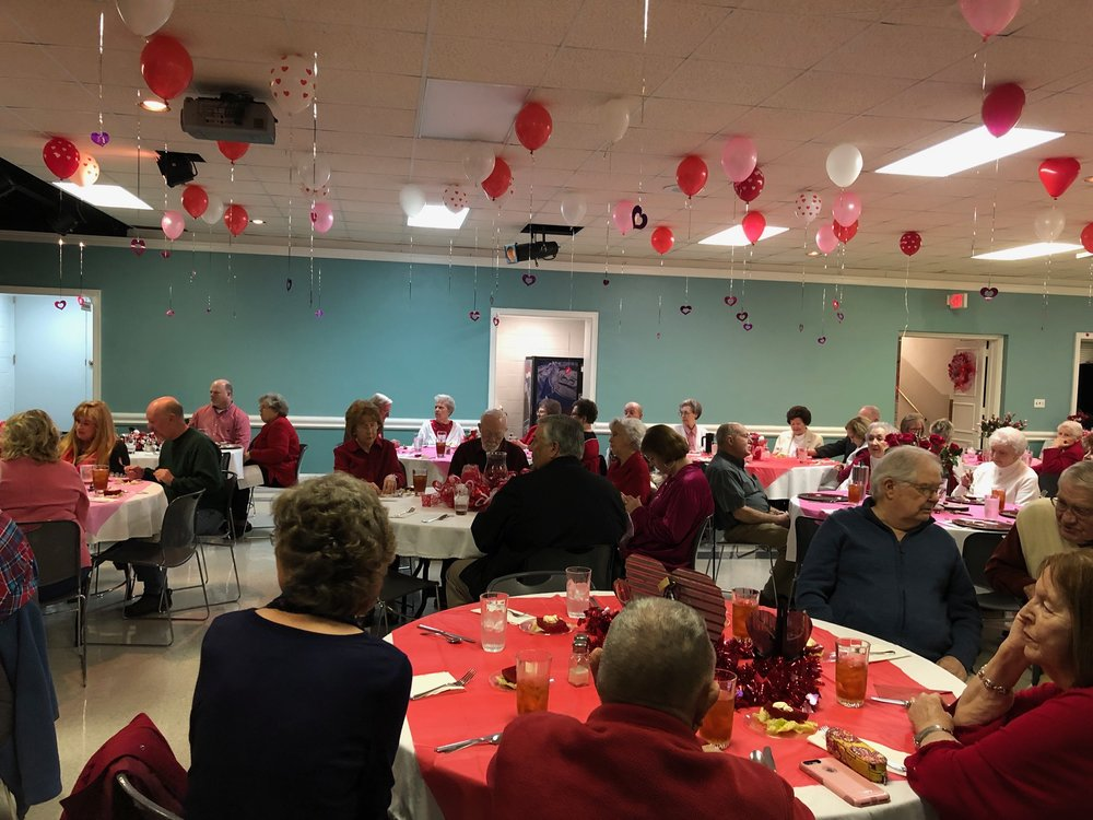 Seniors in Action - Valentine's Day Party