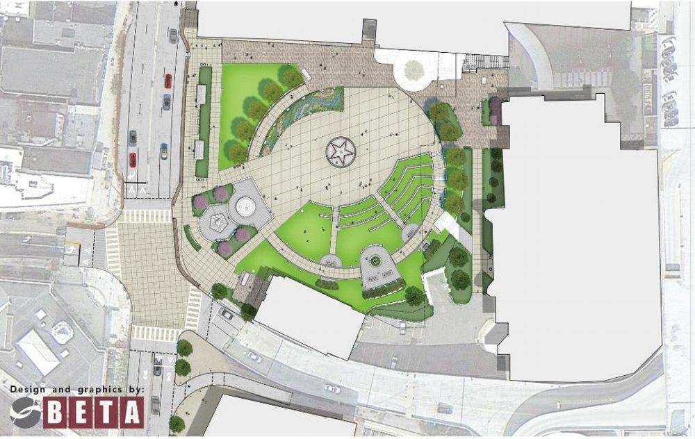 the design plan veterans park