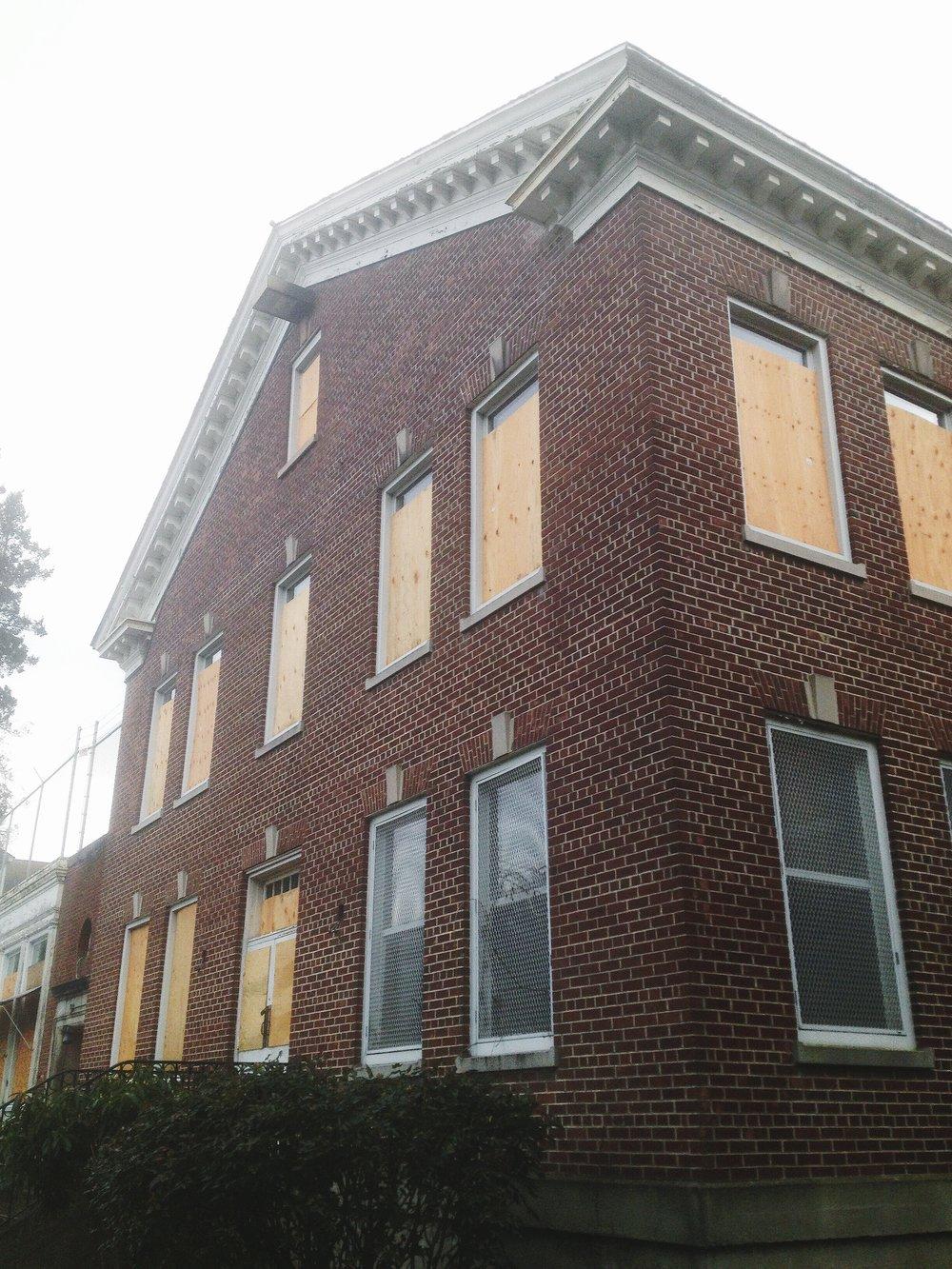 building 9 Exterior Facade.