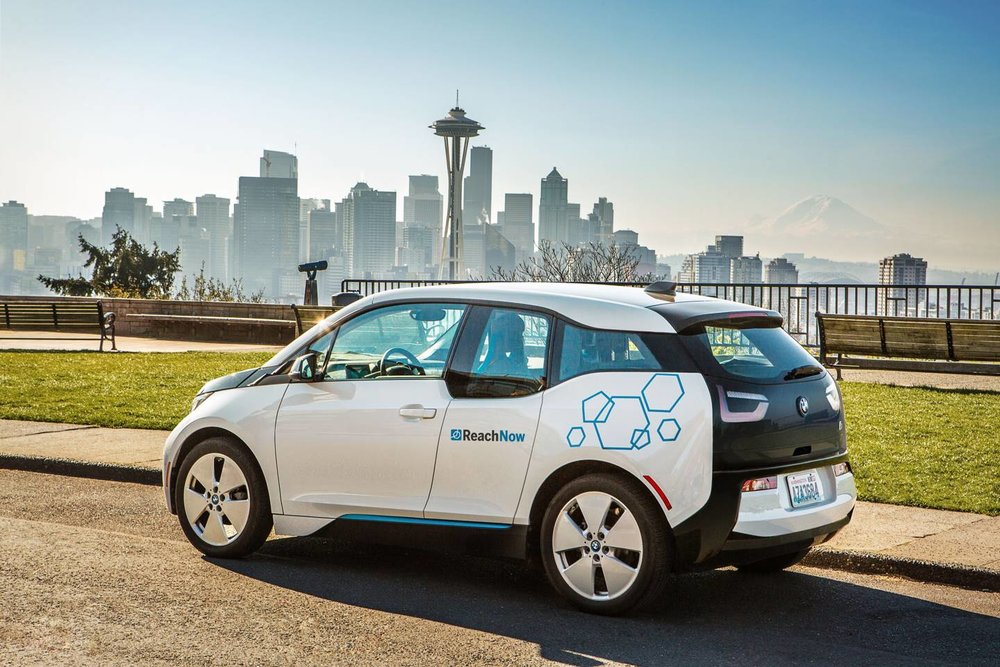 Seattle will be the first place to test BMW ReachNow's Autonomous Cars.  |  image by bmw via the drive