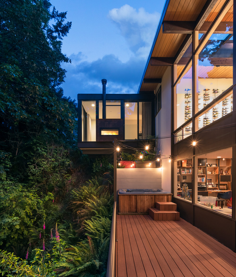 Cantilever Bedroom  Addition