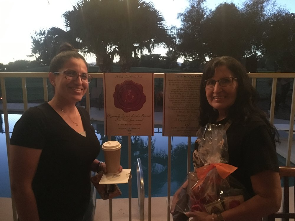 Christina & Frances  - Supporting our cause from the day it was launched.Avondale, AZ