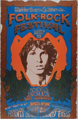 for these Posters!! & Doors Vintage Concert Posters