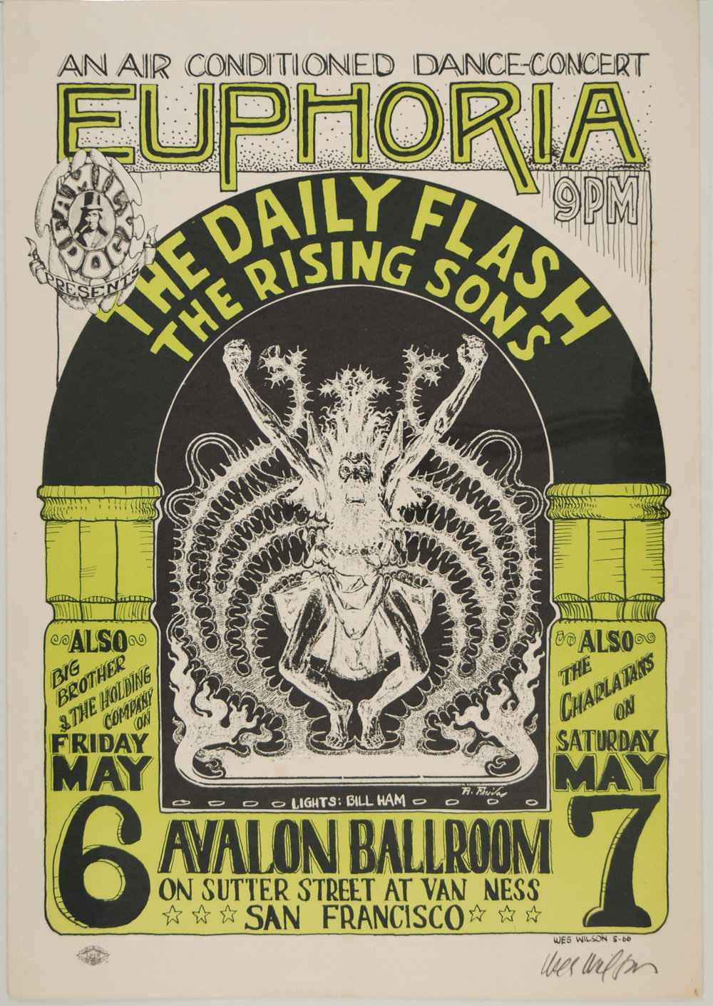 Daily Flash, Avalon Ballroom