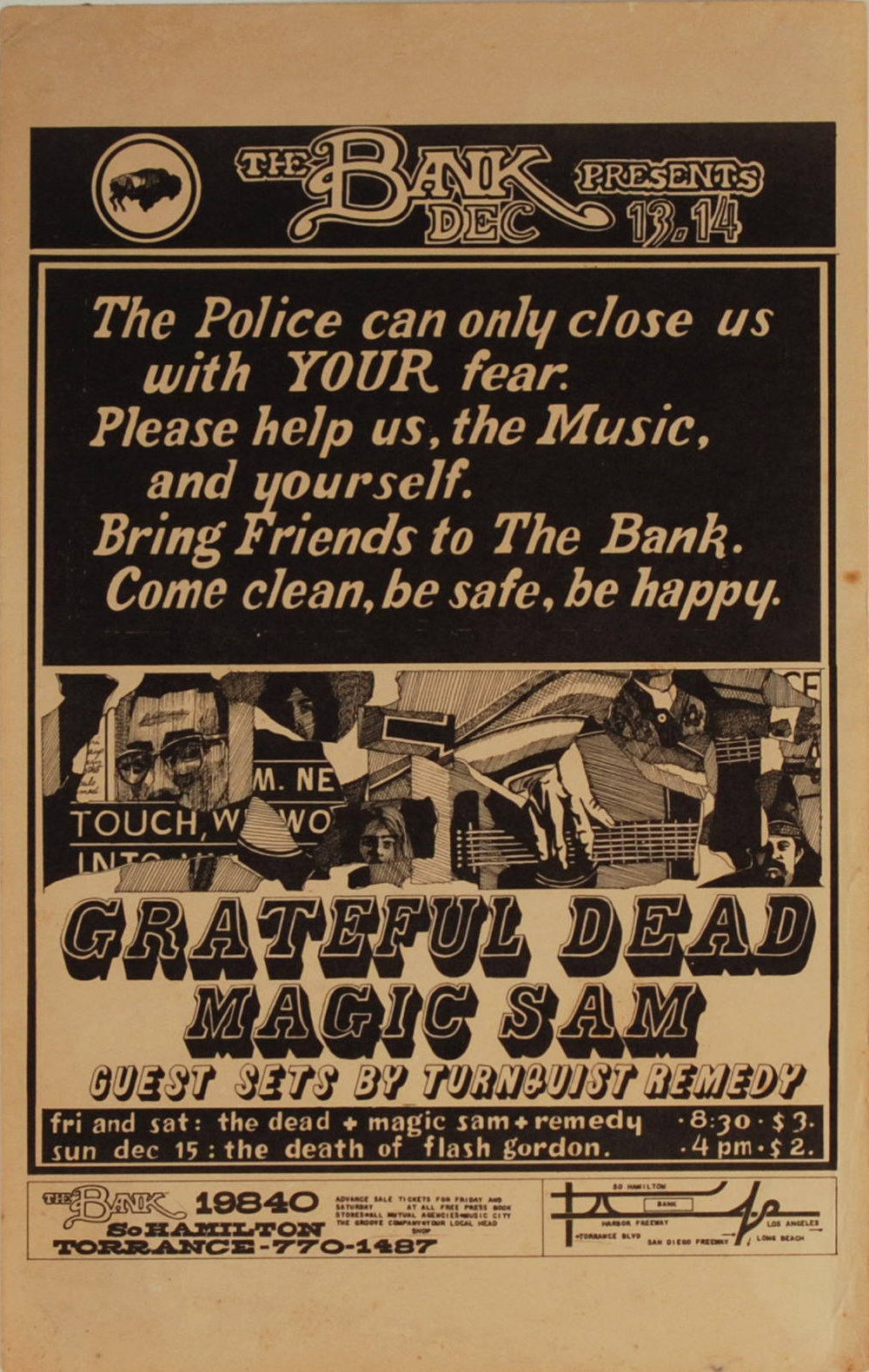Grateful Dead, The Bank