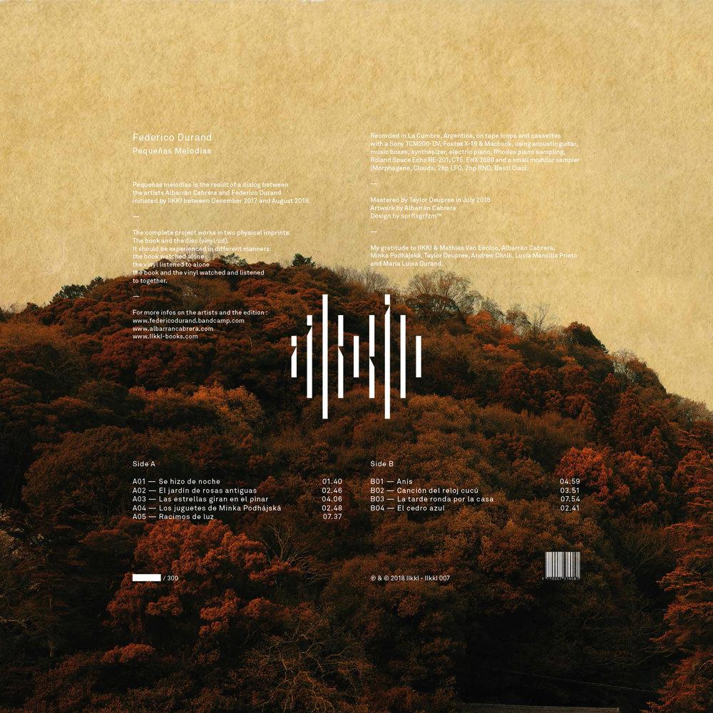 Federico Durand - Pequeñas Melodías - iikki_07_BACKCOVER_LP-COVER.jpg