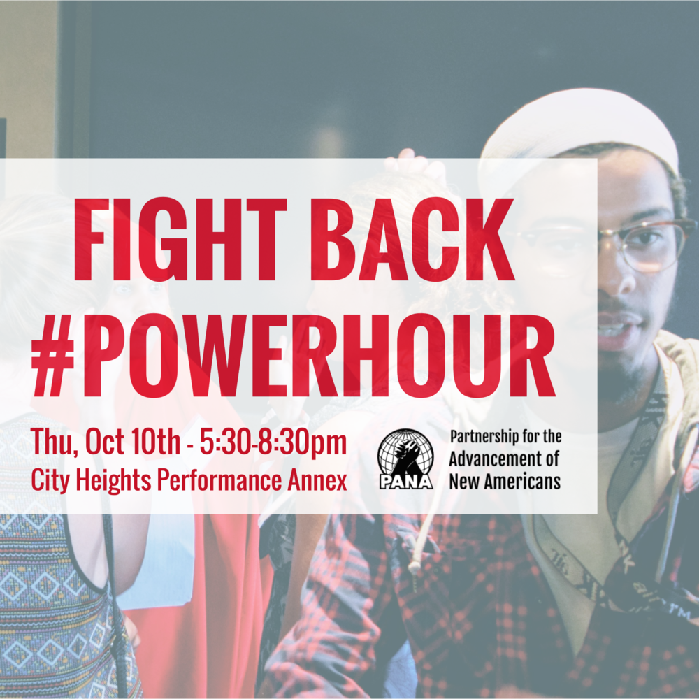 RSVP: Fight Back #PowerHour Oct 10