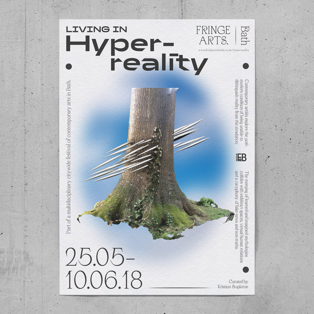 Living in hyperreality  Exhibition, identity