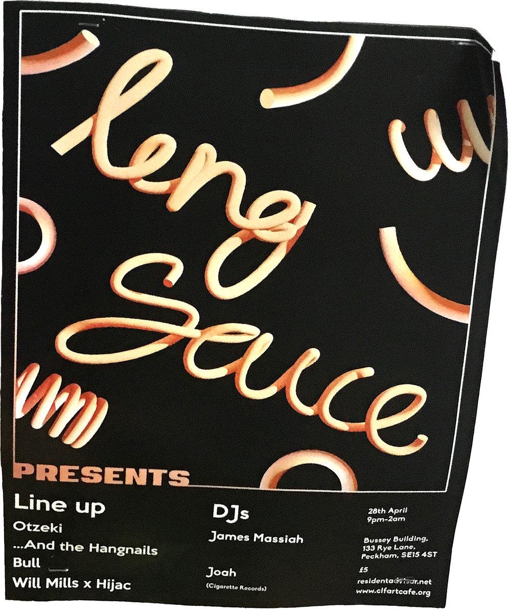Leng Sauce  Flyer