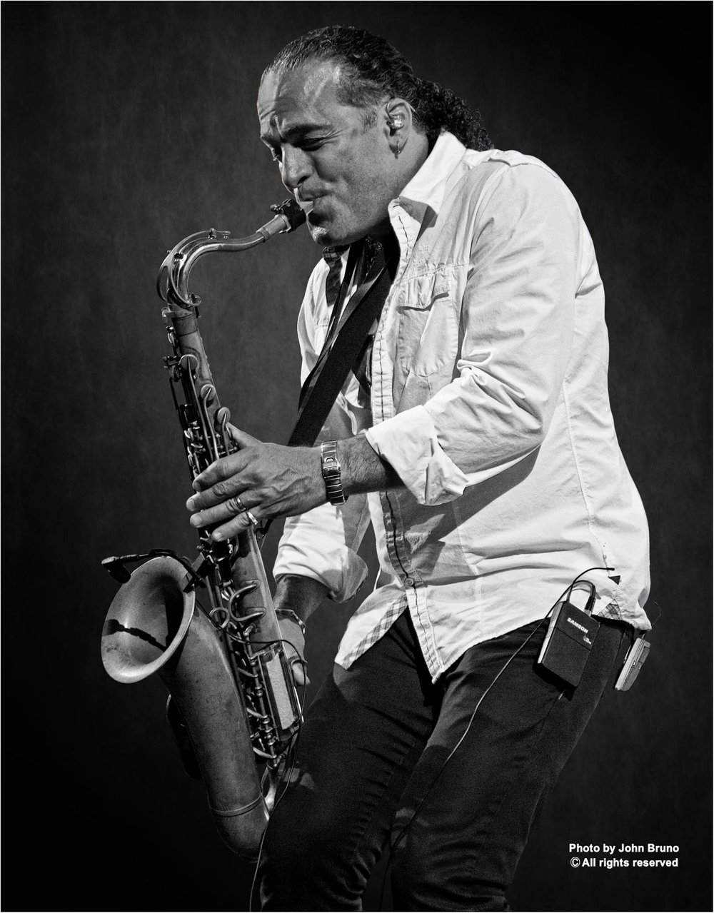 John Scarpulla    Saxophone - an original cast member of Billy's Broadway Musical Movin Out band.  John has toured with Michael Bolton, Hall & Oats, Diana Ross, Huey Lewis, Tower of Power, a bunch others and was part of the All Star Horn Section for Billy Joel's Last Play at Shea Stadium Concerts.