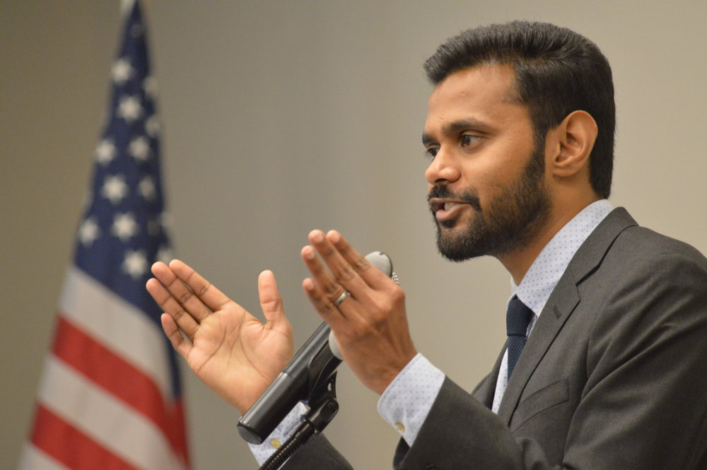 Mervin Jebaraj, interim director of the University of Arkansas Center for Business and Economic Research, describes the outstanding peer regions that Northwest Arkansas is using as benchmarks in the annual State of the Northwest Arkansas Region Report.