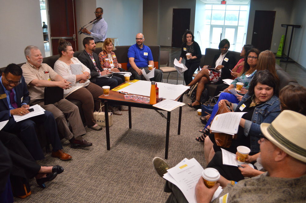 Stakeholders from across Northwest Arkansas met May 9 to help shape a strategic plan that will guide EngageNWA's efforts to making living and working better for all people who live in the region.