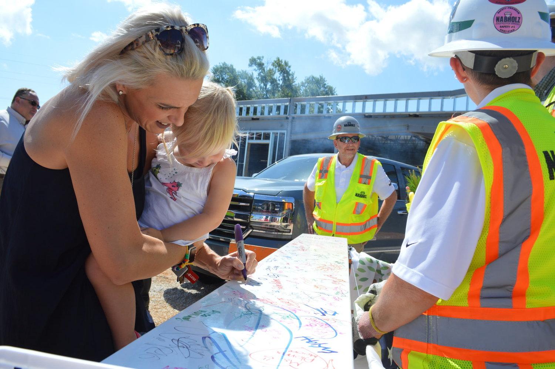 b0029b8967af Childhood Education Center Marks Milestone in Building s Construction