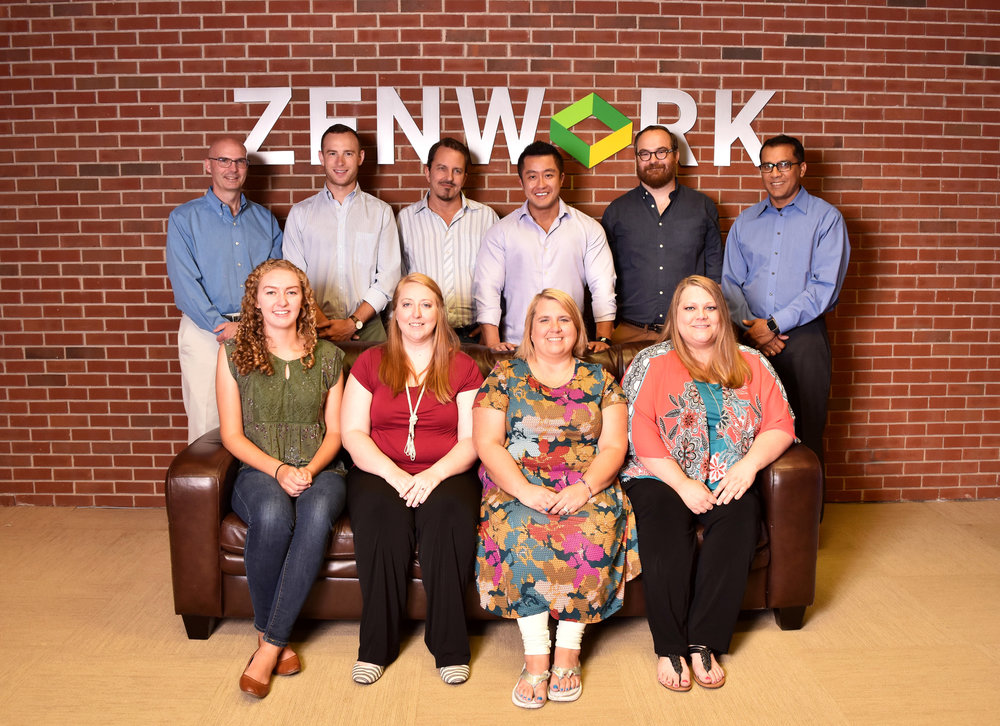 Fayetteville's ZENWORK, has revenue in excess of $5 million a year and 45 employees. It helps customers with tax and regulatory matters.