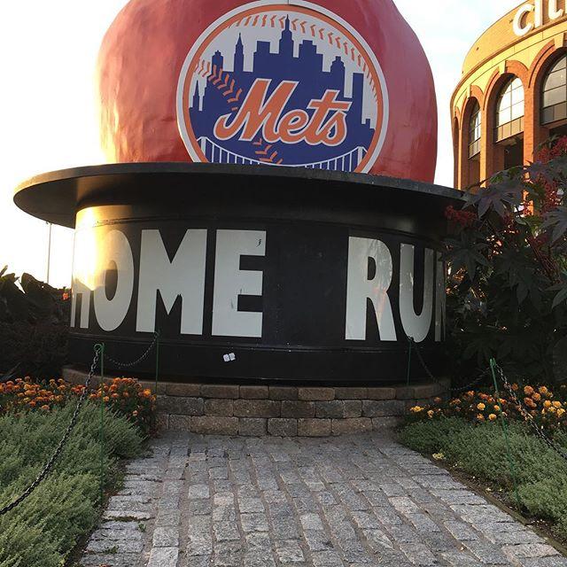 Taking in Mets / Braves @ Citi Field - a brief break from #waterpolo
