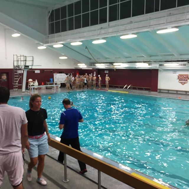 @sfbkterriers vs. @icgaels in Men's Water Polo in New Rochelle #waterpolo