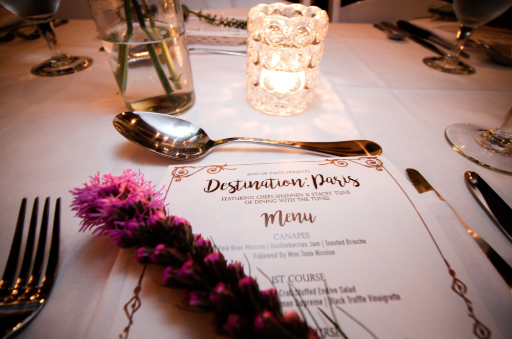 Dinner Parties are a Ronin favorite! What dishes will be on your menu?