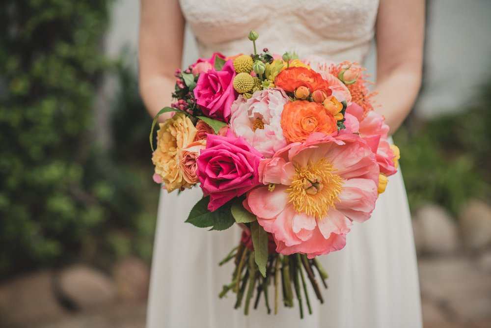 Modern Colorful San Diego Wedding
