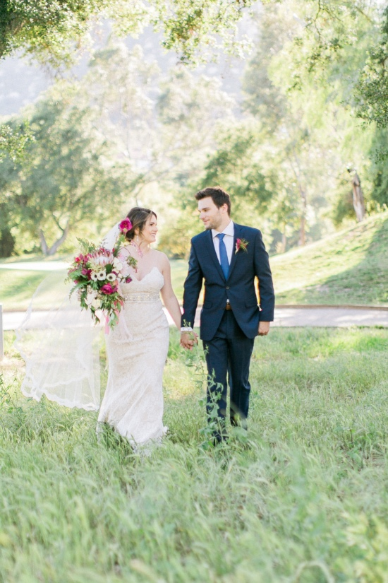 Summer Chic Wedding in California