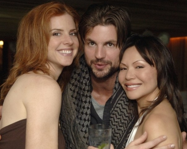 With Sarah Rafferty, Gale Harold,  Tribeca Film Festival