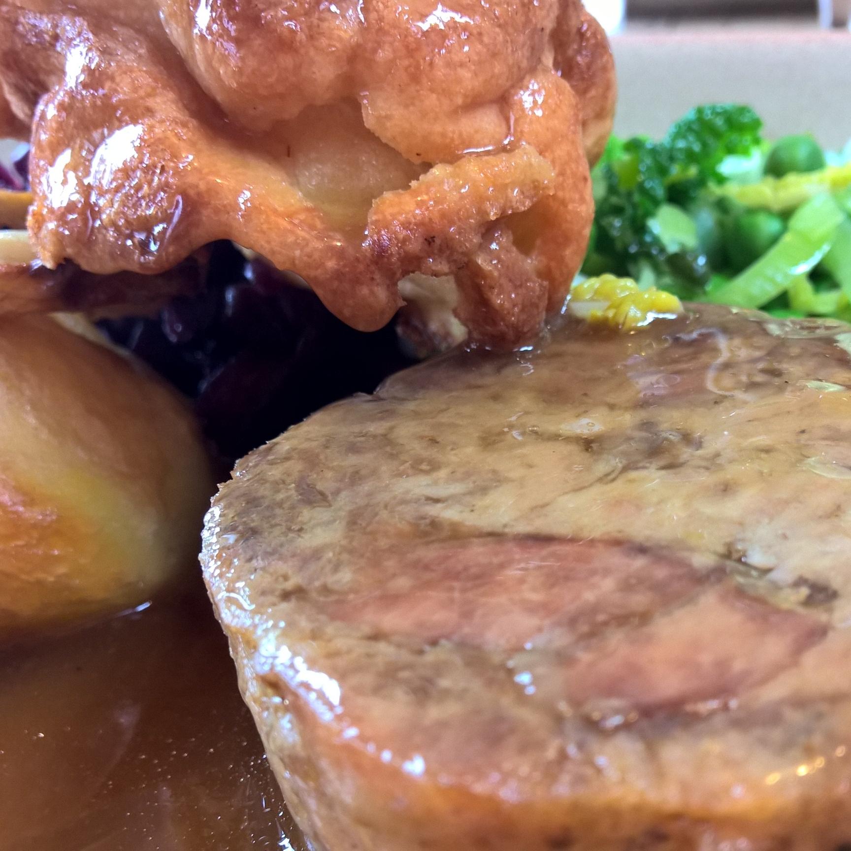 Shoulder of lamb, Sunday Roast
