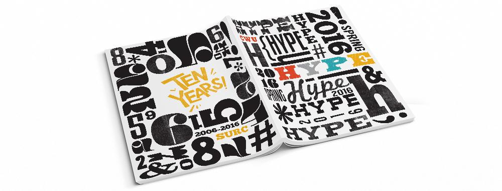 2016 CWU Hype Publication design, layout, and illustration