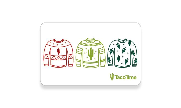 Cactus Card Winter 2019 card