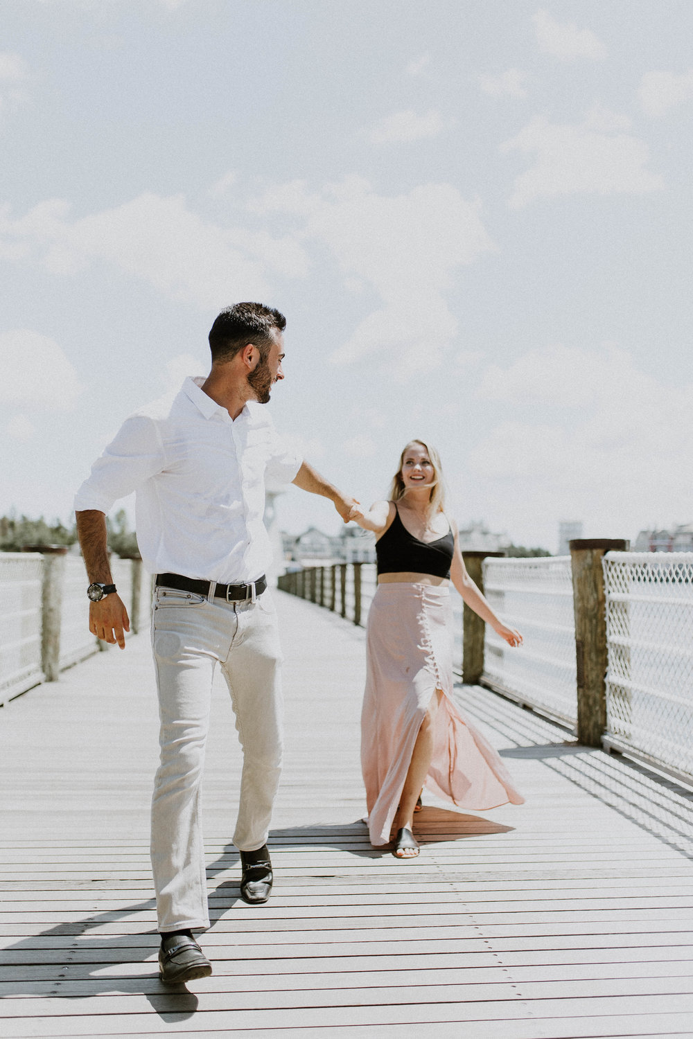 Bree + Stephen - BOARDWALK HOTEL, ORLANDO FL