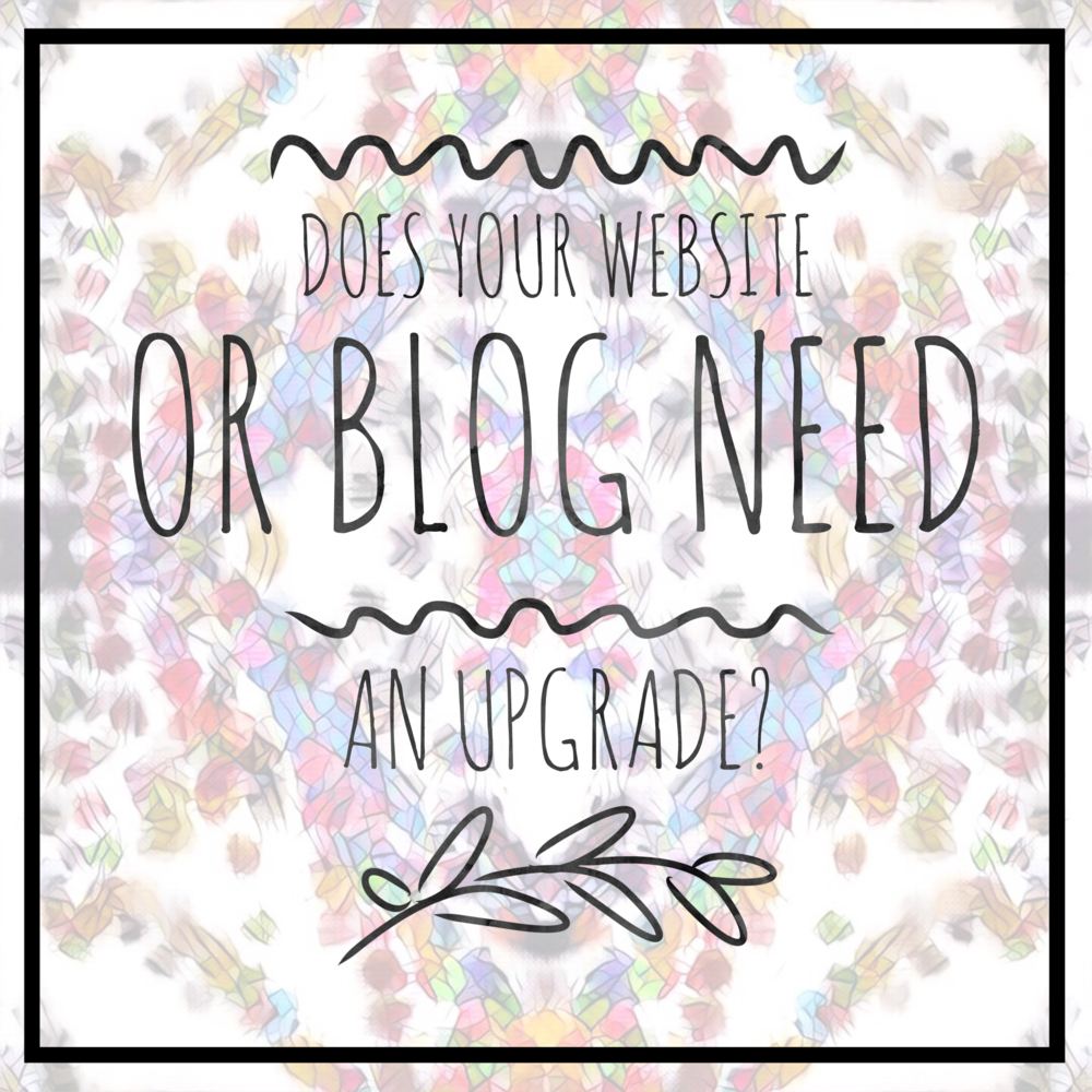 BLOG WEBSITE UPGRADE