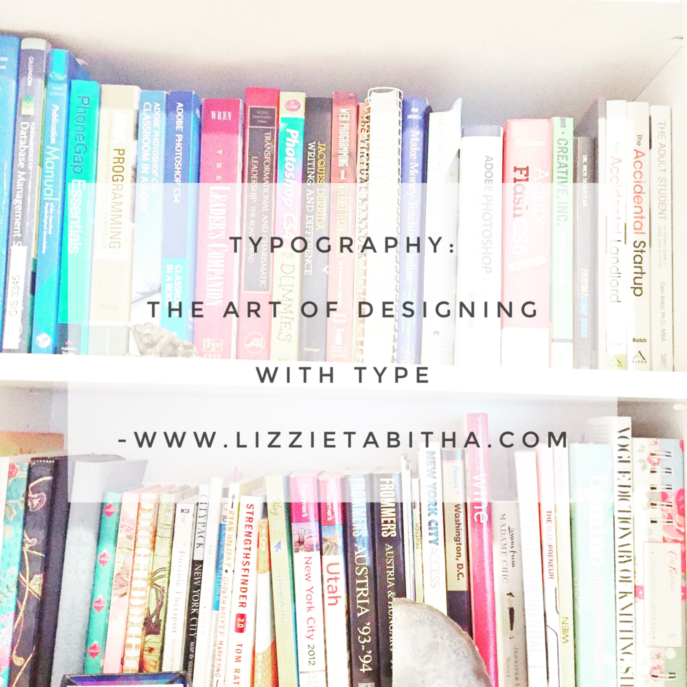 typography: the art of designing