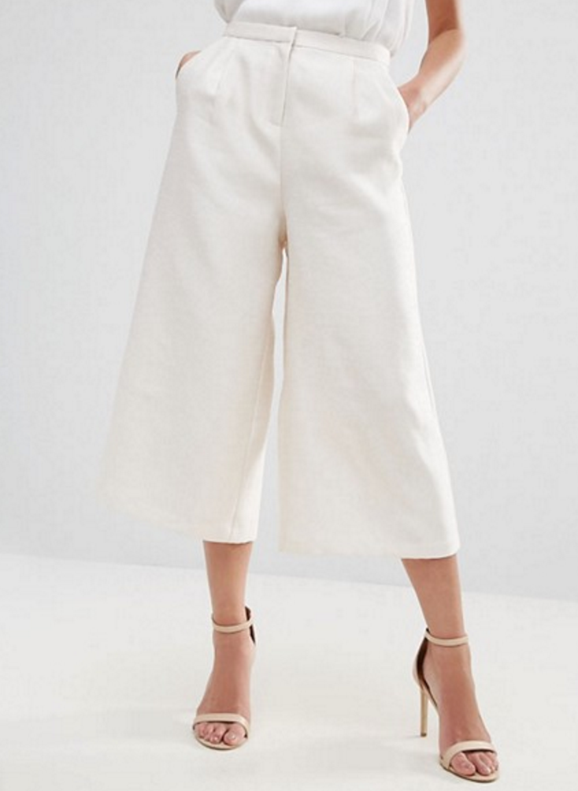 Traffic People Tailored Culottes $44.50