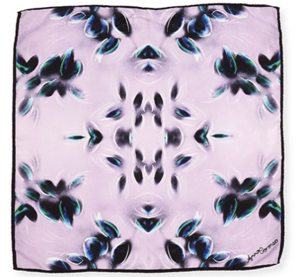 Anna Coroneo Camellia Silk Square Scarf $75.00